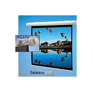 Draper Salara Plug & Play Electric Wall Mount Projection