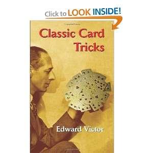 Card Tricks (Dover Magic Books) (9780486433554) Edward Victor Books