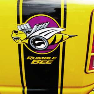 Rumble bee Stripe kit Graphic Truck Decals Stickers RAM