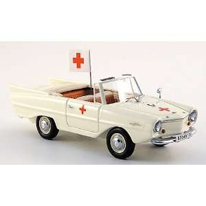 Amphicar Ambulance, 1961, Model Car, Ready made, Neo Scale