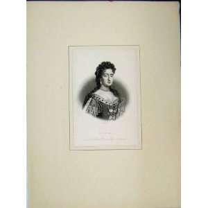 Queen Mary Portrait Queen Great Britain Ireland France