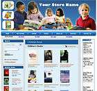 Money Making Children book Store Website For Sale