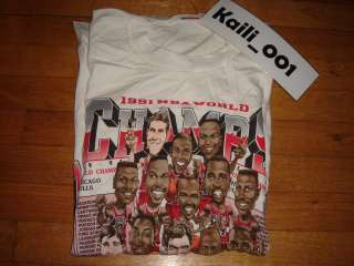 VTG Chicago Bulls NBA 1991 Champions T Shirt OG Nike