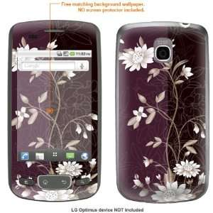 STICKER for T Mobile LG Optimus case cover Optimus 88 Electronics