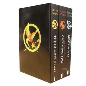 Hunger games Catching Fire Mockingjay Books Collection Set Gift Pack