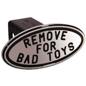 Performance 25243 Black Remove for Bad Toys Oval 2 Billet Hitch Cover