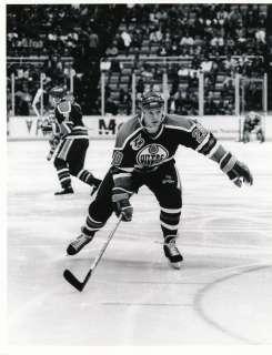 1992 Edmonton Oilers NHL Sporting News Generation One Photo COA