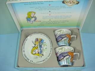 Alice in Wonderland by Paul Cardew Cup & Saucer Set
