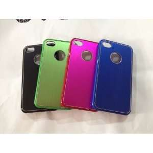 4 PCS Wholesale Hard Case Apple Mobile Aluminium Design