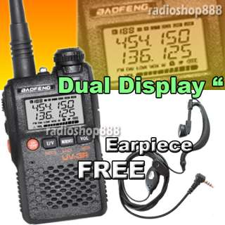 UV 3R ( Mark II ) VHF/UHF 136 174 400 470 DUAL BAND FREE SOFTCASE