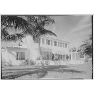 Photo George Goldwyn, residence at 6605 Allison Rd., Miami Beach