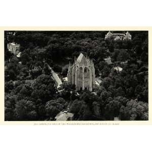 Print Washington National Cathedral Mount St Alban Religious DC Apse
