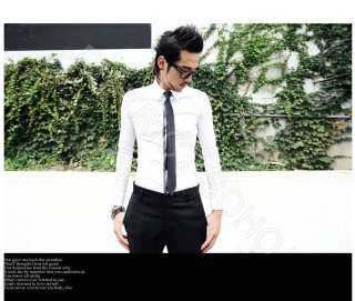 Inch Mens Retro Slim Tie t shirts suits cufflink bow