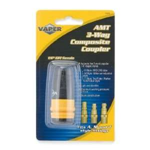 Vaper AMT 3 Way Composite Coupler   1/4in. Female, Model
