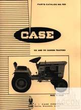 Case 155 and 195 Garden Tractor Parts Catalog Manual