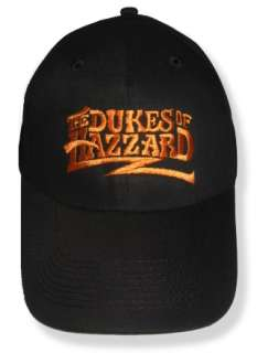 Dukes of Hazzard Logo Embroidered Cap General Lee Hat