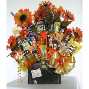 Cured By Chocolate Candy Bouquet Grocery & Gourmet Food