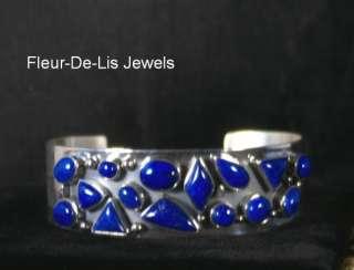 Jay King MINE FINDS Lapis Lazuli Cuff Bracelet Sterling Silver