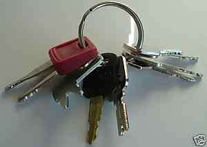 Keys   Heavy Construction Equipment Key Set   NEW