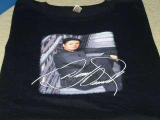 DONNY OSMOND United States 2007 Concert Tour Black T Shirt New Women
