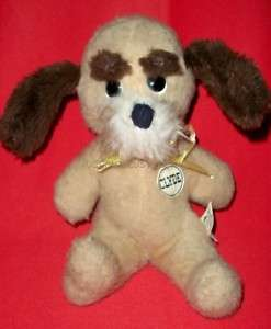 ANIMAL FAIR SHERIFF CLYDE PUPPY DOG PLUSH HENRY 1974