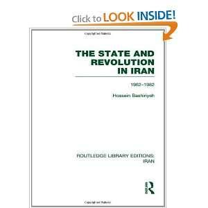 (RLE Iran D) (Volume 3) (9780415613361) Hossein Bashiriyeh Books