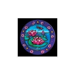 Mandala Lovely Lotus Pond Window Sticker Decal