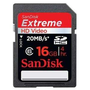 Extreme HD Video SD Card (Flash Memory & Readers)