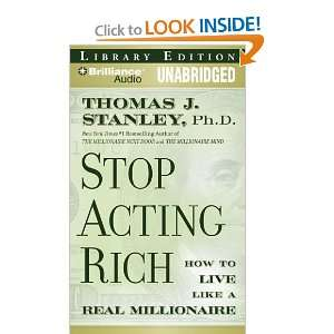 Millionaire (9781423398134): Thomas J. Stanley, Fred Stella: Books