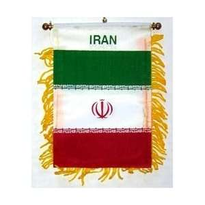 Iran   Window Hanging Flags: Automotive