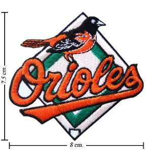 Baltimore Orioles Logo Iron On Patches: Everything Else