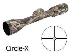 Banner Rifle Scope 3 9x 40mm Circle X Reticle Realtree AP 713944AP