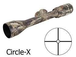 Banner Rifle Scope 3 9x 40mm Circle X Reticle Realtree AP 713944AP