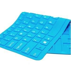 Cosmos Aqua Blue Keyboard cover skin compataible with Sony