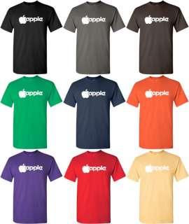 APPLE T shirt Computer II MAC GEEK Shirt Retro 80s TEE