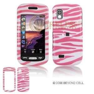 Samsung Infinity A887 PDA Pink/White Zebra Design Protective Case