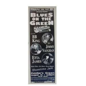 BB King Jimmy Vuaghan Etta James Handbill Poster B.B. B B B. B. Vaughn
