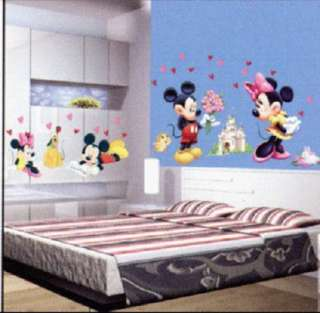 Mickey Art Decor Vinyl Wall Paper Sticker Decal 107