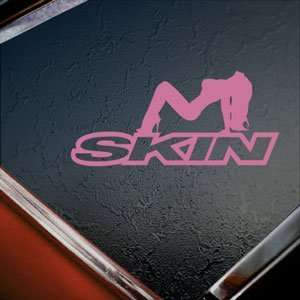 SKIN INDUSTRIES Pink Decal Car Truck Bumper Window Pink