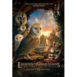 Legend of the Guardians: The Owls of GaHoole Movie Poster