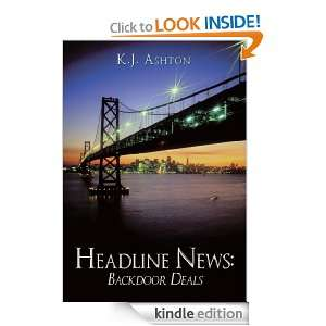 Headline News: Backdoor Deals: K.J. Ashton:  Kindle Store