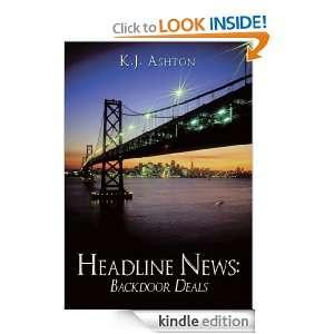 Headline News Backdoor Deals K.J. Ashton  Kindle Store