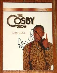 Bill Cosby SIGNED Cosby Show Season 4 DVD BOX SET COA