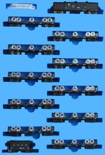 A6976 JNR Freight Car Type TOKI 21100 + TOKI 21500 Steel Coils Train