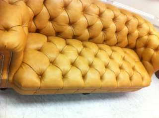 RALPH LAUREN Tufted Chesterfield LEATHER Sofa   BRAND NEW