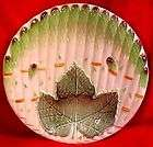 antique platter, asparagus pottery items in asparagus plate store on