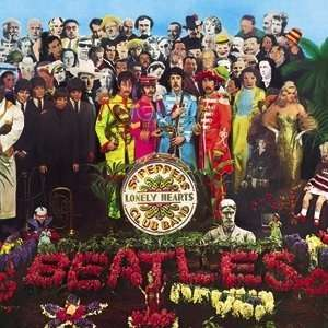 . Peppers Lonely Hearts Club Band Album Cover Button