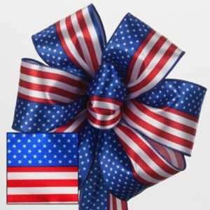 American Flag Wire Edged Ribbon Case Pack 24