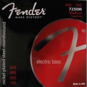 Fender Electric Bass Guitar Nickelplated Steel Super