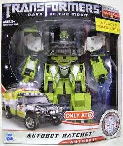 AUTOBOT RATCHET Transformers 3 DOTM Movie Voyager Class Figure Target